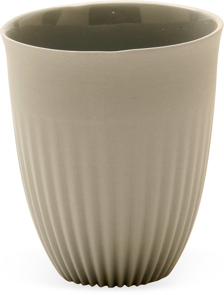 Feinedinge Alice Small Beaker Cup, Gray