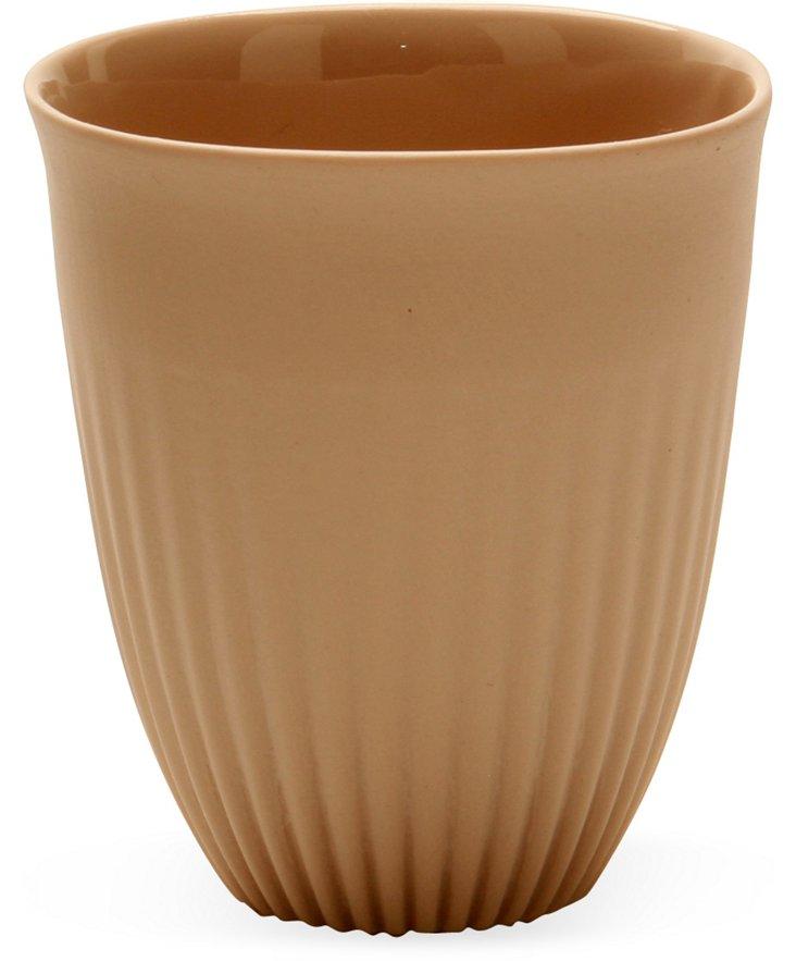 Small Porcelain Alice Beaker Cup, Rose