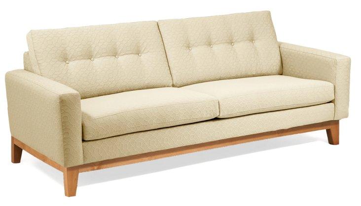 "Julie 83"" Sofa, Cream"