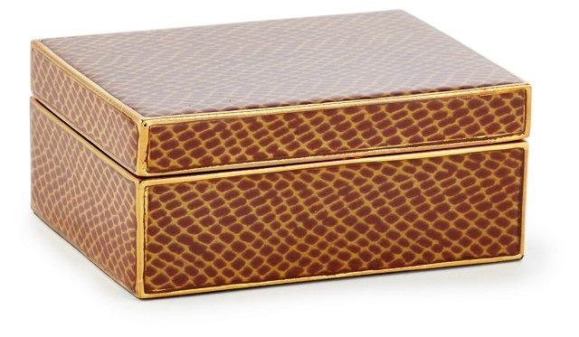 Small Accessories Box, Brown
