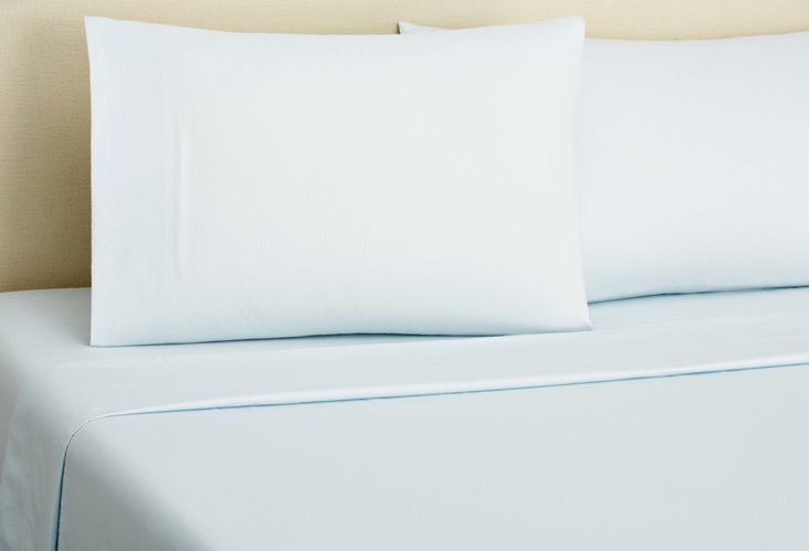 Sateen Sheet Set, Glacier