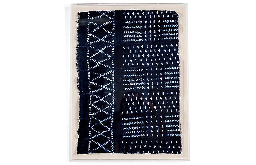 Indigo Mud Cloth