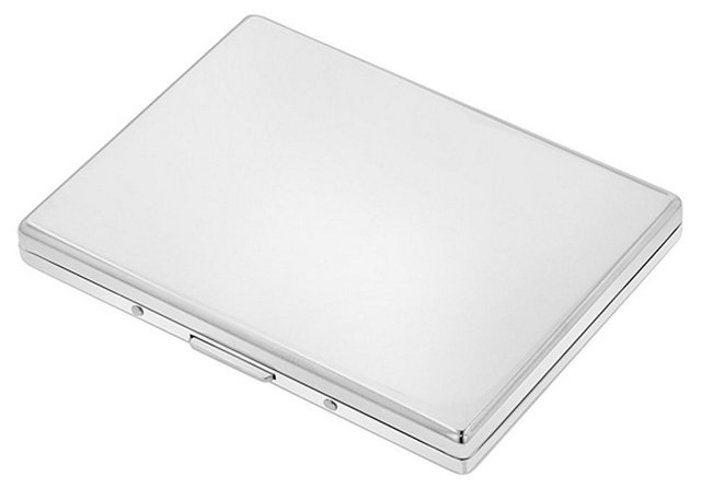 Business-Card Case, Nickel-Plated