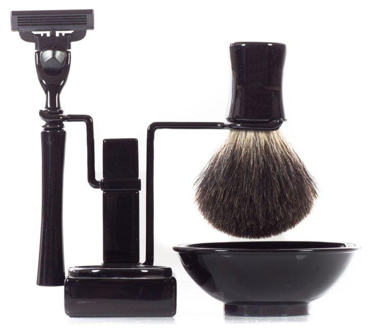 Axwell Shaving Set, Black
