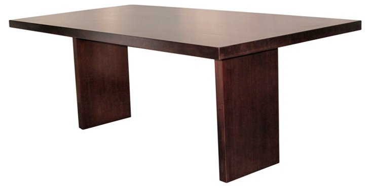 Gates Dining Table, Espresso