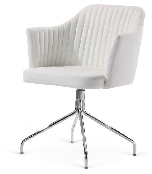 DNU, O-Harmer Chair, White