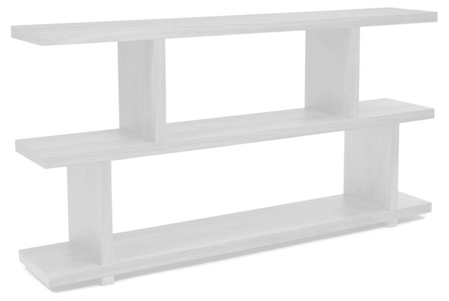Eleanor Small Bookshelf, White
