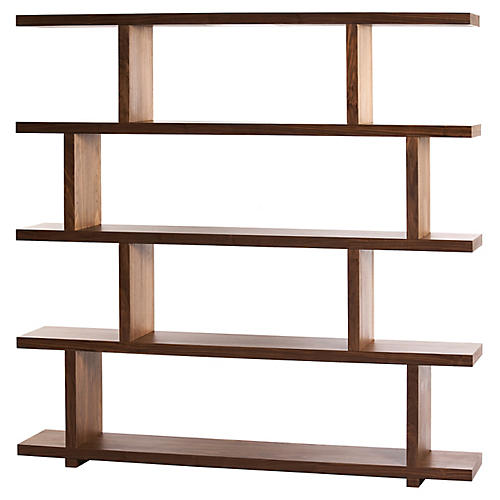 Eleanor Large Bookshelf, Walnut