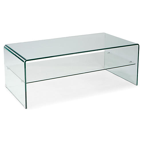 Elka Glass Coffee Table