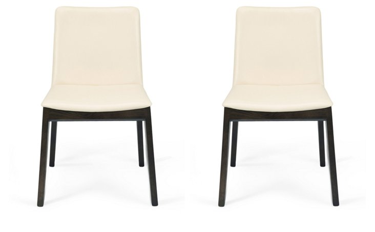 DNU, O-Montecristo Dining Chairs, Pair