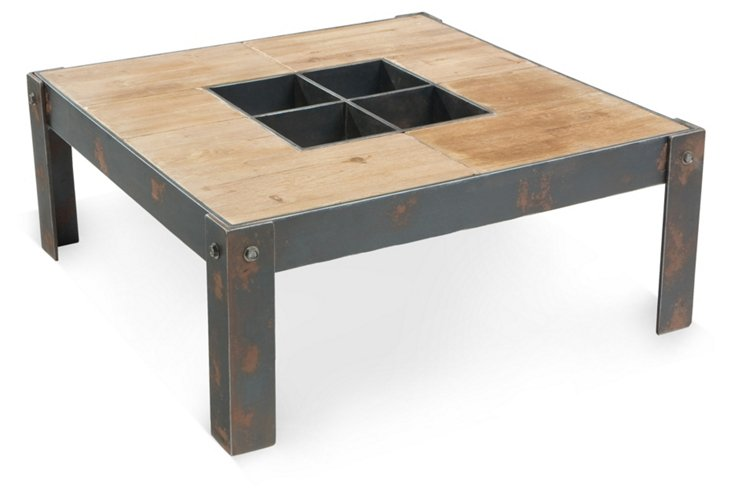 Bolt Coffee Table, Natural
