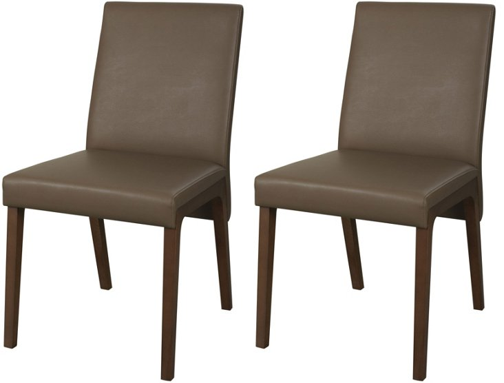 Percelly Dining Chairs, Pair
