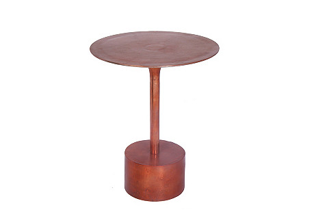 Cleeton Side Table, Bronze