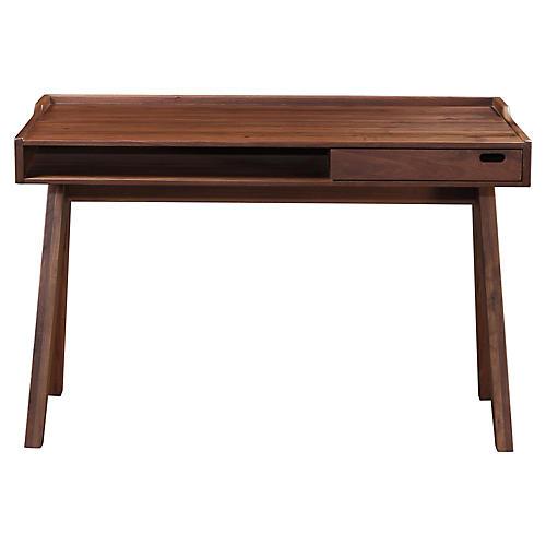 Daffy Desk, Walnut