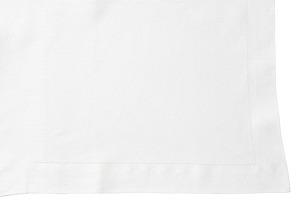 Hemstitch Queen Top Sheet/Sham Set, White