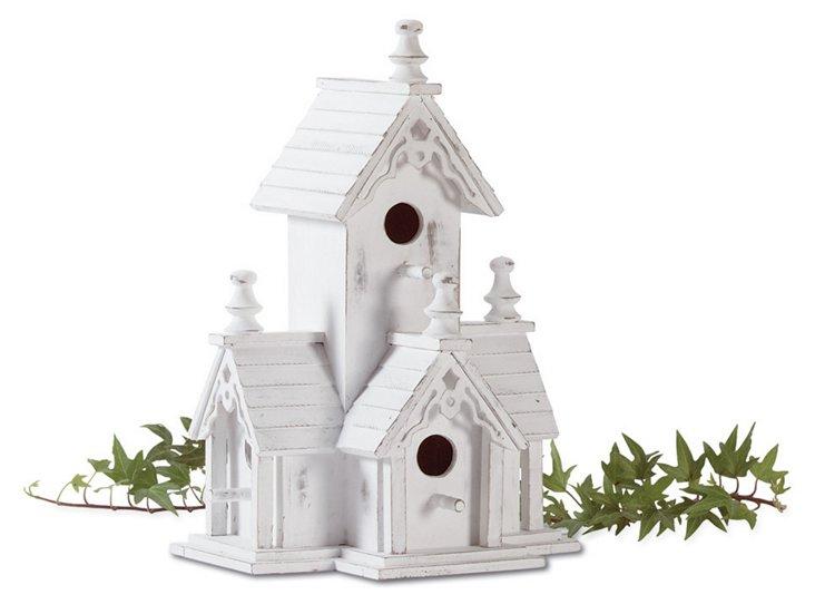 Historic Manor Birdhouse