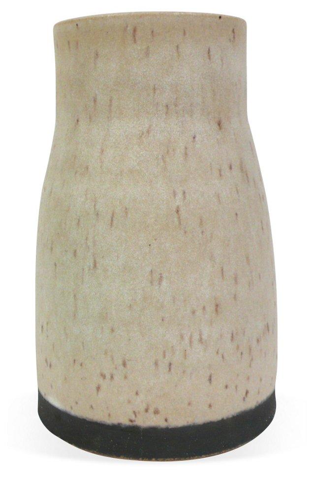 Speckled Buff Vase