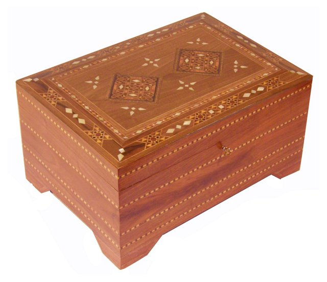 Middle Eastern Jewelry Box