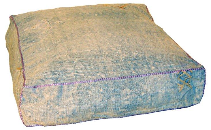 Sahara Floor Pillow, Blue
