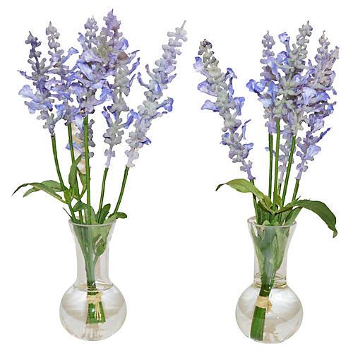 """11"""" Lavender Arrangement"""