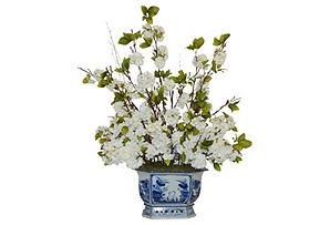 "40"" Cherry Blossoms in Vase, Arrangement"