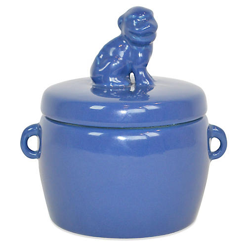 Solid Dog-Lid Candle, Lavender