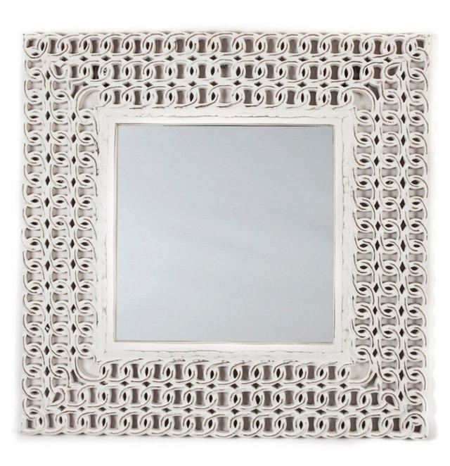 Sofia Fretwork Mirror