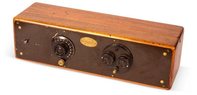 Antique Wood Radio