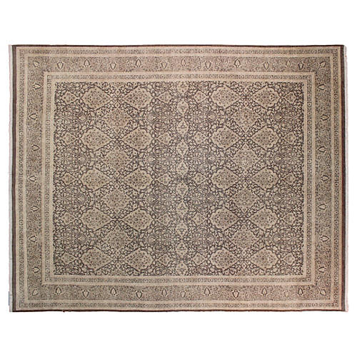 "8'11""x11'6"" Sophia Rug, Light Brown"