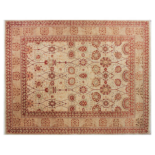 "9'2""x11'7"" Colt Rug, Bone Gray/Green"