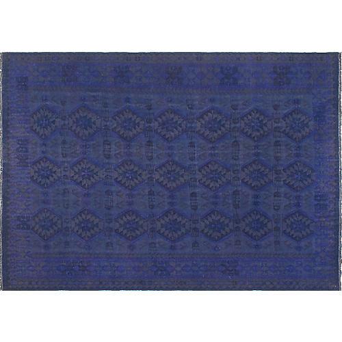 "8'3""x11'6"" Waerheall Handwoven Rug, Purple/Brown"