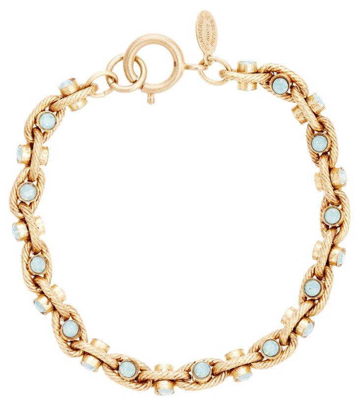 Esmé Crystal Link Bracelet, Pacific Opal