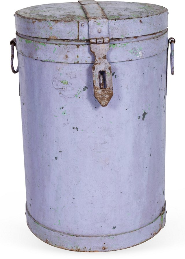 Indian Metal Canister