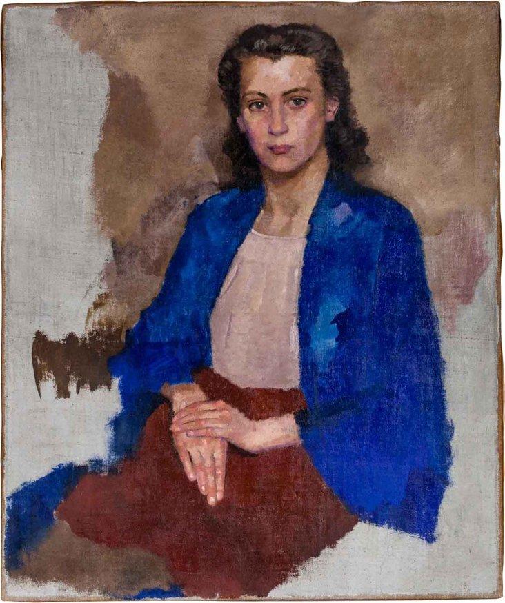 Oil Portrait of a Woman