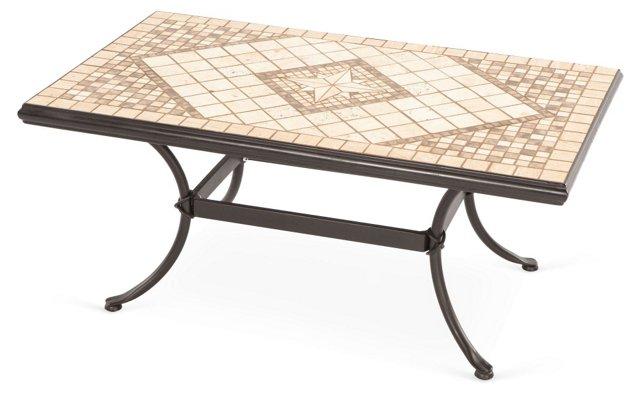 Basilica Mosaic Outdoor Coffee Table
