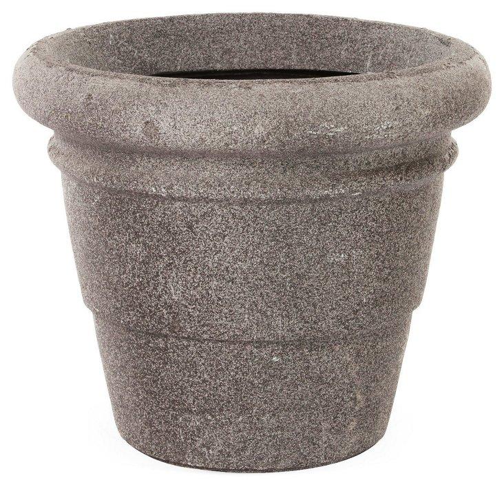 """20"""" Round Rolled Rim Planter"""