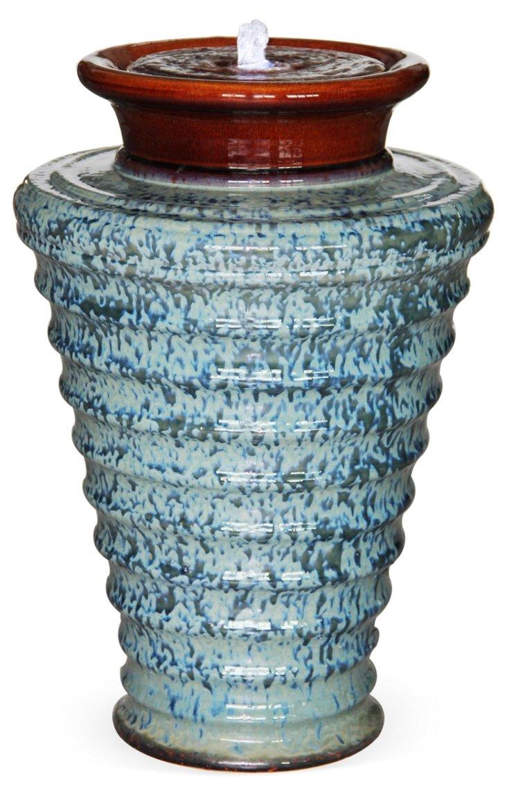 "23"" Twister Fountain w/ Light & Pump"