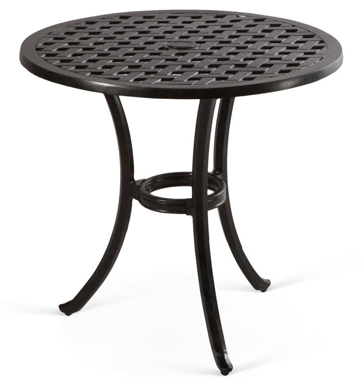 "Weave 30"" Bistro Umbrella Table"