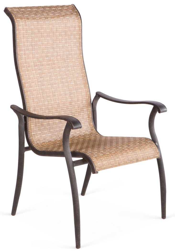 S/2 Charter Stackable Sling Chairs