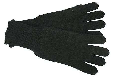 Cashmere Gloves, Black