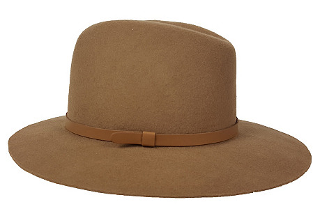 Original Medium-Brim Hat, Taupe