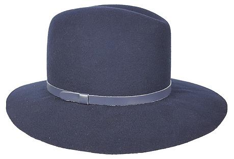Original Medium-Brim Hat, Navy