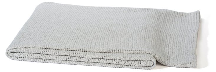 Helsinki Cotton Throw, Stone