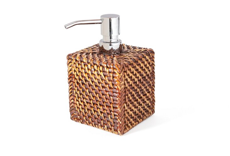 "3.5"" Soap Dispenser, Tobacco"