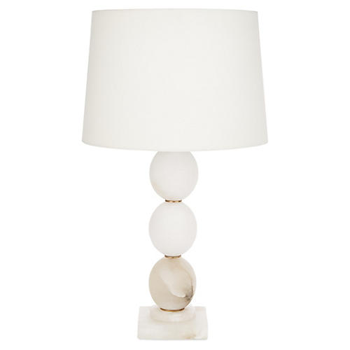 Bryant Table Lamp, Alabaster