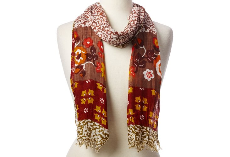 Scarf, Brown