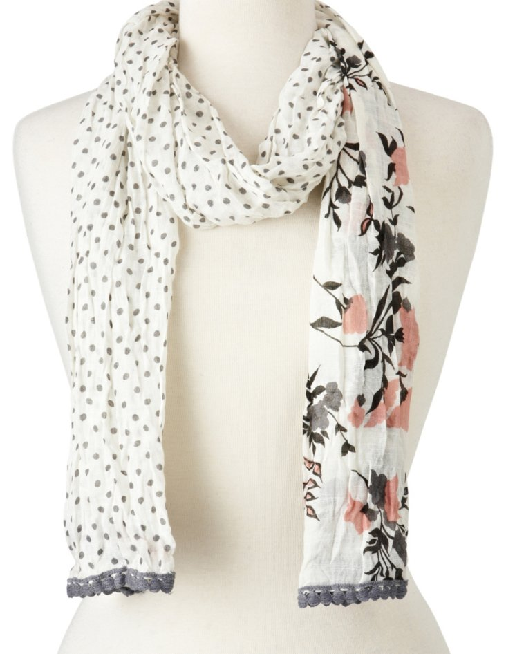 Scarf, Taupe