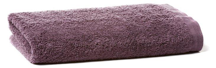Cumulus Terry Hand Towel, Plum