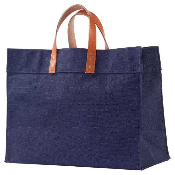 Canvas Advantage Tote, Navy