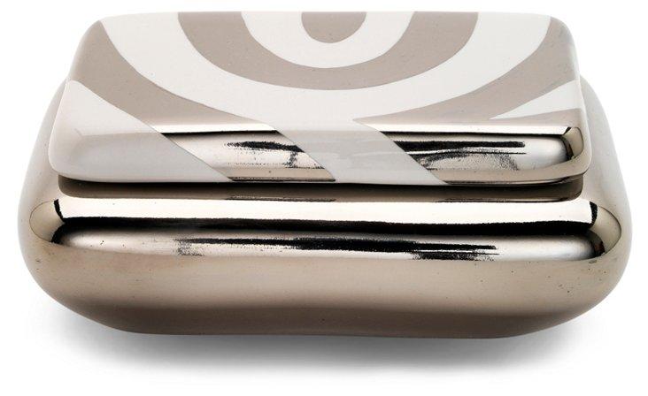 """5"""" Mod Zebra Box, White"""